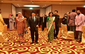 70 years of India independence celebrated in Brunei Darussalam - 15 August 2017