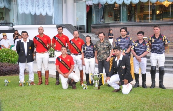 Friendly Exhibition Polo match between 61 Cavalry Indian Army Polo Team and Brunei Polo Team on 10 March 2017
