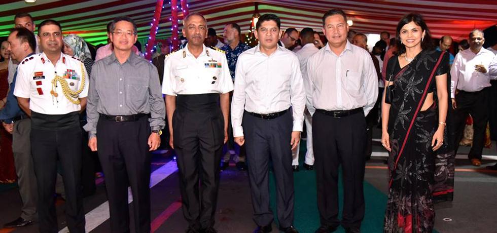 Visit of INS Satpura to Brunei Darussalam.