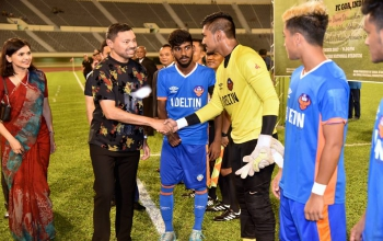 Friendly Football Match between FC Goa and DPMM FC 24 November 2017, Brunei Darussalam