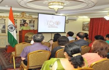 Bapu @ 150 celebrations in Brunei