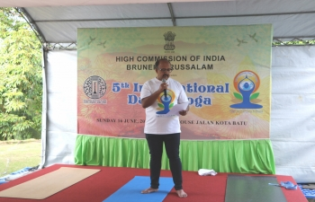 5th International Day of Yoga 2019 in Brunei Darussalam