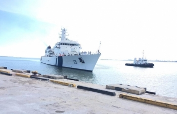Visit of Indian Coast Guard Ship (ICGS) Shaunak to Brunei Darussalam