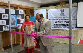 "Photo Exhibtion to commemorate the ""Constitution Day and Compaign on Citizen's Duties"""