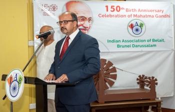 Indian Association Belait (IAB) celebrates Gandhi Jayanti