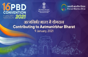 Programme of 16th Pravasi Bhartiya Diwas Convention on 9 January 2021