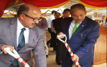 Ground Breaking Ceremony for 'Chancery, Staff Residences and Auxiliary Facilities Building' and 'High Commissioner's Residence' Project for High Commission of India in Brunei Darussalam