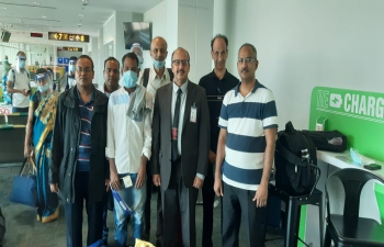12th Flight for repatriation of Indian nationals from Brunei to India on 26 March, 2021