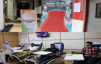 Celebrating India@75 – Bharat Ka Amrit Mahotsav: Blood Donation Drive by High Commission of India in collaboration with BSBIA